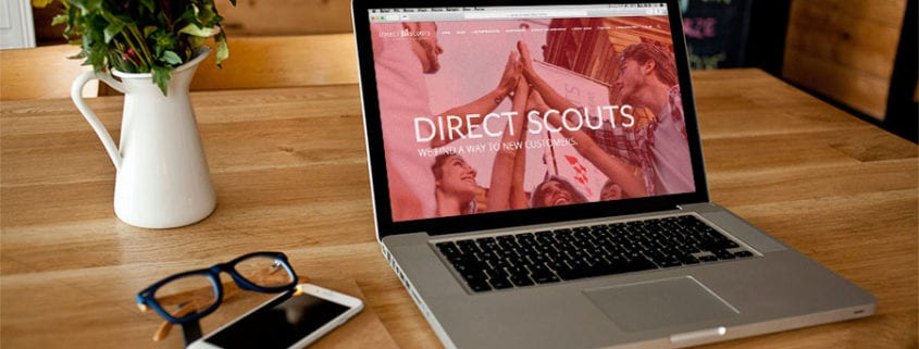 Direct Scouts neue Website